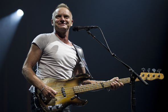 Sting saltó a la fama luego de fundar al grupo The Police en 1977.