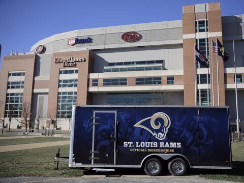La ciudad de San Luis, Missouri se quedó sin equipo de la NFL por...