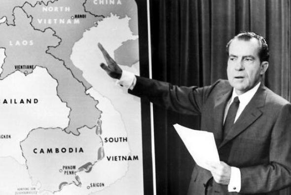 6. Fue en 1970 que el presidente Richard Nixon tomó la errónea decisión...