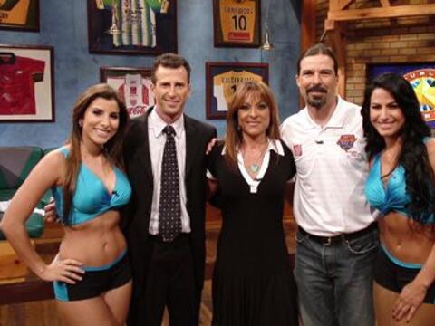 Marcelo Balboa estuvo de visita en la República Deportiva.