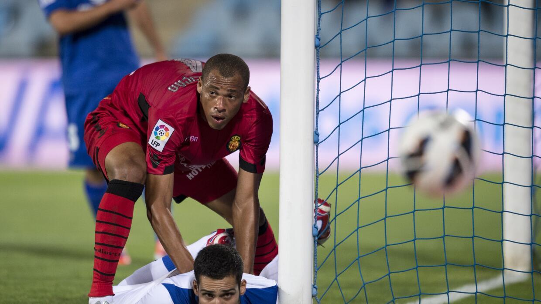 El brasileño Anderson Conceiçao durante su tiempo en Mallo...