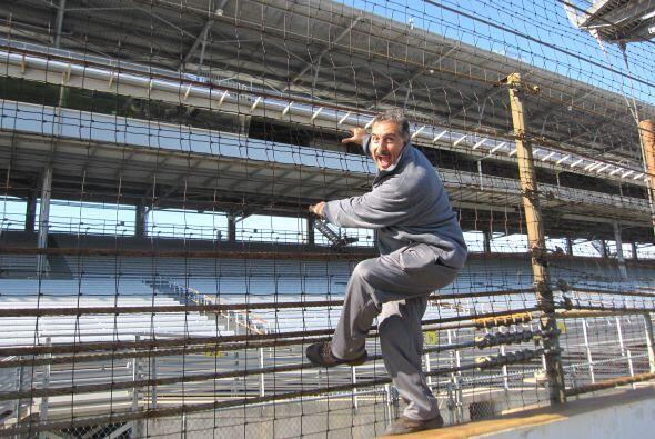 Festejando la victoria como lo hace mi amigo 'Spiderman' Castro Neves qu...