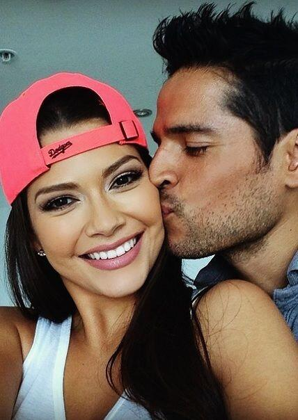 """""""Despidiéndome con besito y selfie antes de irme a #LosAngeles #LA mañan..."""