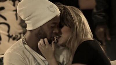 El astro brasileño aparecio en el video del grupo musical 'Trio Ternura'