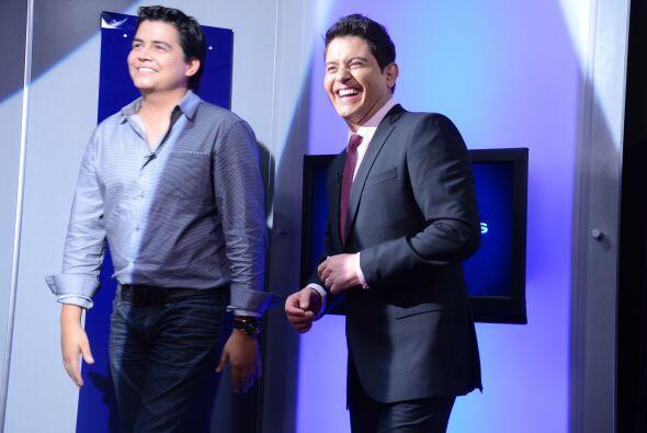 Pero entre risas y chistes Orlando y Ernesto decidieron dejar las audici...