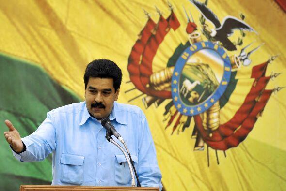 Con respecto a ese rubro, Maduro señaló: 'vamos a seguir a...
