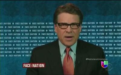 Propuestas del gobernador de Texas, Rick Perry, para controlar la crisis...