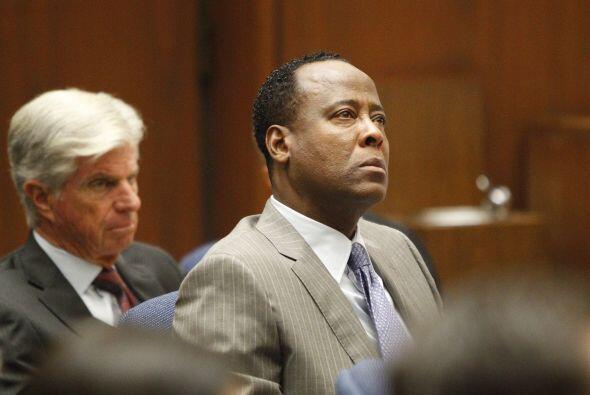 Los abogados de Conrad Murray afirmaron que su cliente es inocente y que...