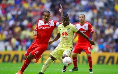 Ya se juega el América vs. Toluca