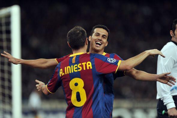 Pedro volvió a marcar para el 3-0 definitivo, con el que los espa...