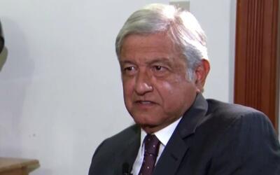Andrés López Obrador dice cómo México debe lidiar con Donald Trump
