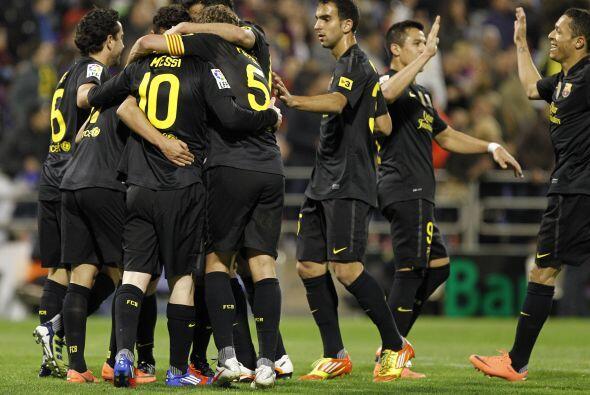 El Barcelona visitó a un necesitado Zaragoza y terminó goleando.
