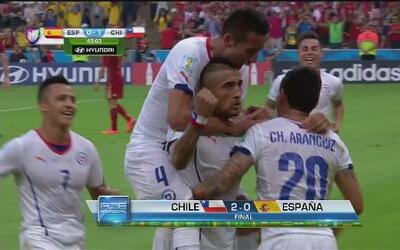 Chile y Holanda avanzan a 8vos - Copa Mundial Brasil 2014