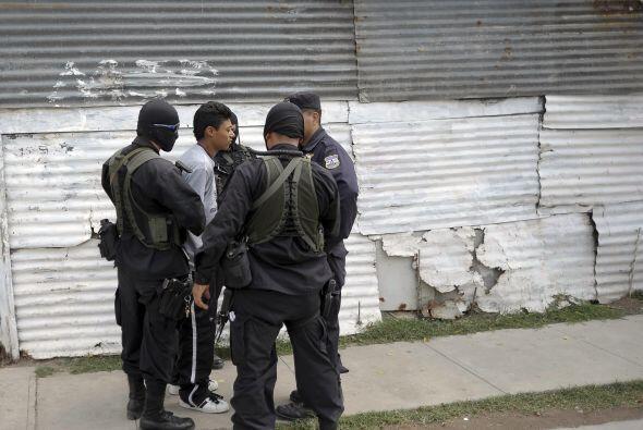 El avance en la lucha de las pandillas se controló debido a la presencia...