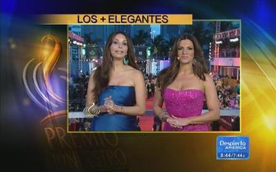 Los mejor vestidos de Premio lo Nuestro según los expertos en Despierta...