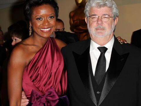 Después de siete años de lindo romance George Lucas y Mell...