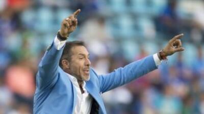 Gustavo Matosas, director técnico de León, ratificó que se marchará no c...