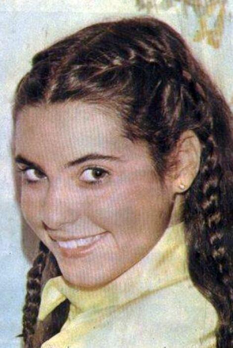 Yolanda ya era muy conocida en ese tiempo porque desde niña se hizo famo...