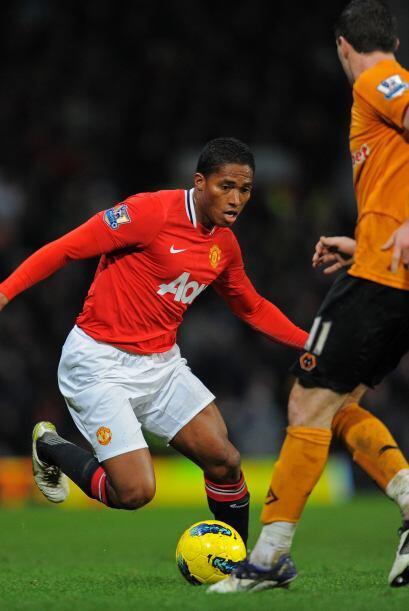 Valencia se entendió muy bien con Nani y Rooney.