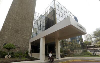 Oficinas del bufete de abogados Mossack Fonseca en la ciudad de Panam&aa...