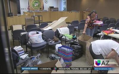 ONGs unen esfuerzos por los niños en Arizona