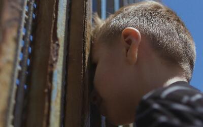 El encuentro de una familia en la frontera