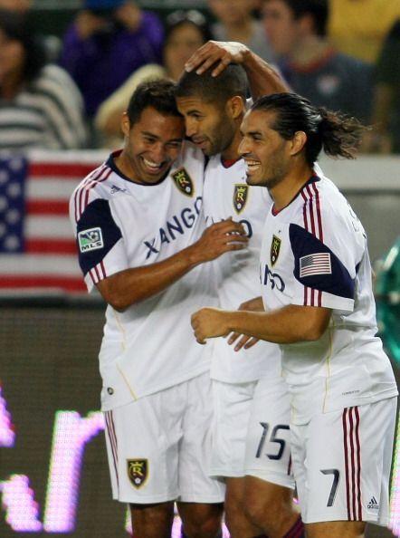 El único gol del partido fue anotado por el costarricense Álvaro Saborío...
