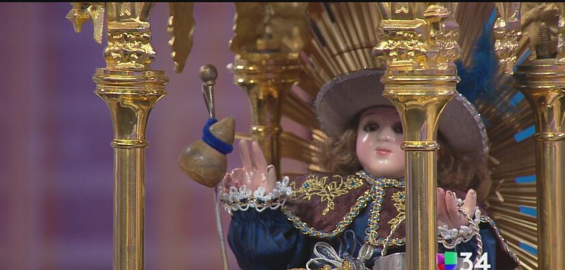 El Santo Niño de Atocha regresa al sur de California