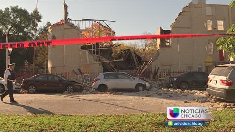 Se colapsa parte de la estructura de una iglesia