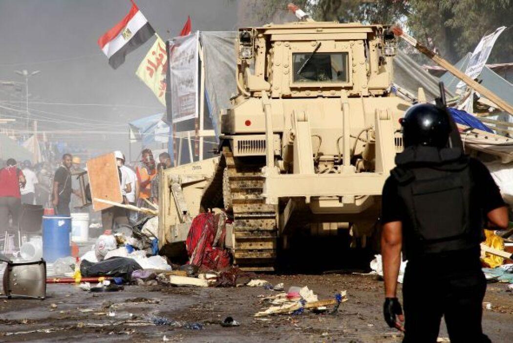 Durante la madrugada de este miércoles las Fuerzas de Seguridad en Egipt...