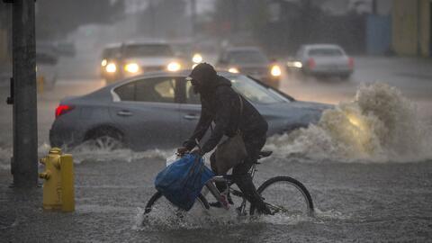 Al menos cinco muertos, apagones y emergencias por la tormenta que azotó...