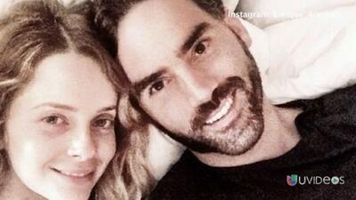 Enrique Acevedo se comprometió con su novia