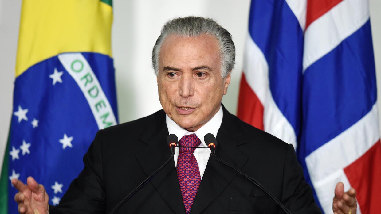 Michel Temer, vicepresidente de Brasil