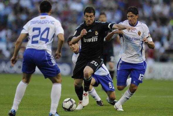 El otro candidato al título español, Real Madrid, se presentó en la canc...