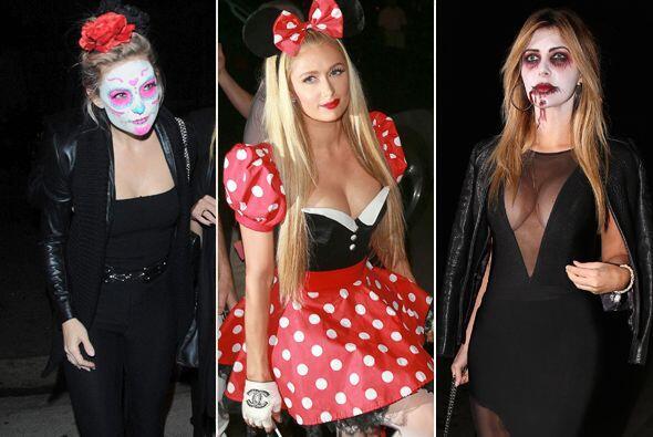Las celebridades festejaron Halloween antes que nadie,  gracias a la fie...
