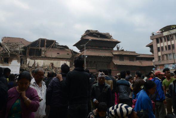 La plaza Durbar, de Katmandú, fue declarada Patrimonio Mundial de la UNE...