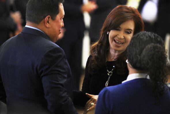 El principal objetivo de la visita de Chávez, es avanzar en la consolida...