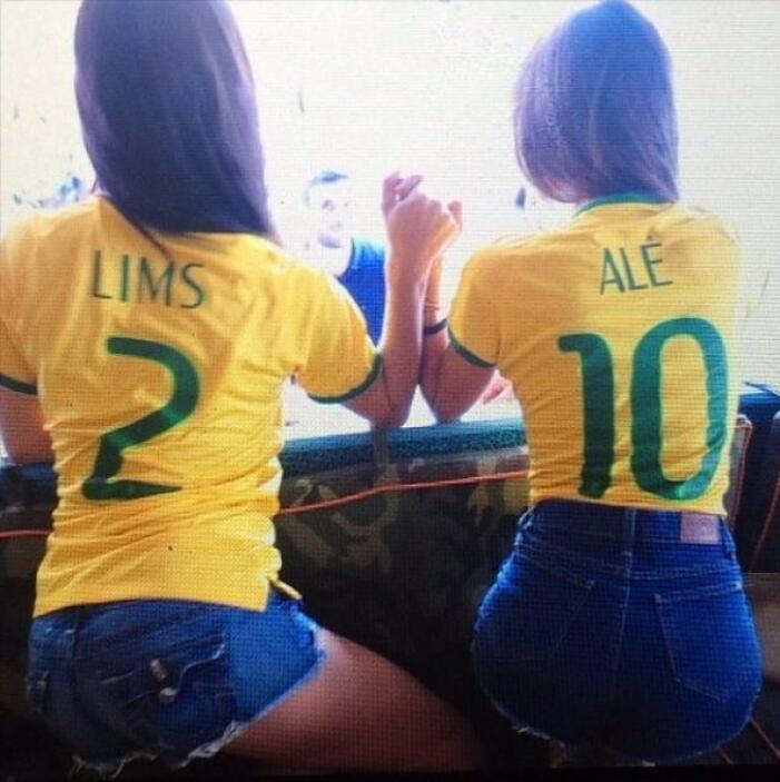 Cada una a su estilo pero siempre optimistas.Todo sobre el Mundial de Br...