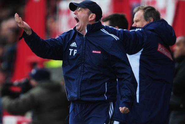 El entrenador de la visita le pedía más contundencia y orden al Stoke.