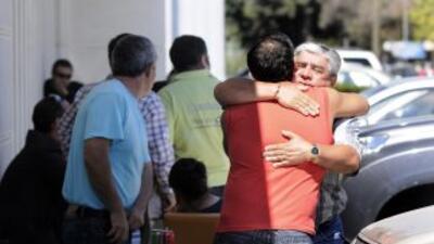 El Servicio Médico Legal de la capital chilena inició el proceso de iden...