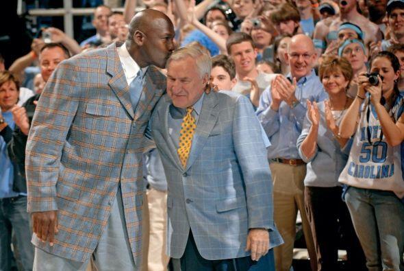 El propio Michael Jordan, considerado el mejor jugador de la historia, h...