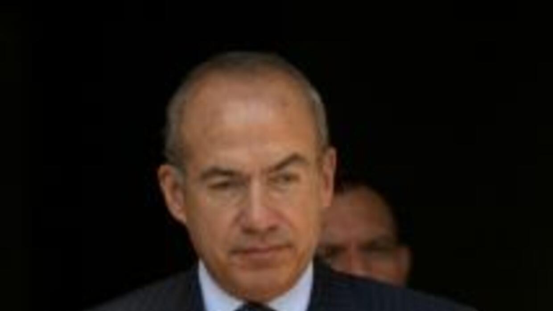 El expresidente mexicano Felipe Calderón.