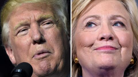 Será el primer debate presidencial en el que se enfrenten un homb...