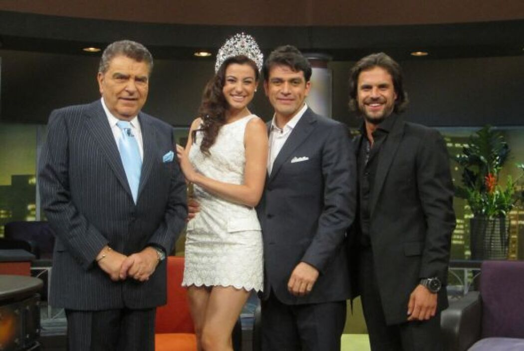 Este lunes don Francisco recibe a Nastassja Bolivar, Nuestra Belleza Lat...