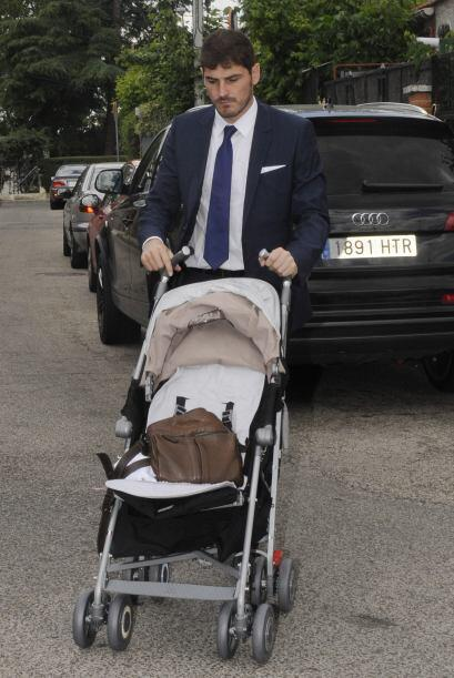Iker se encargó de guardar todas las cosas del nene. Mira aqu&iac...