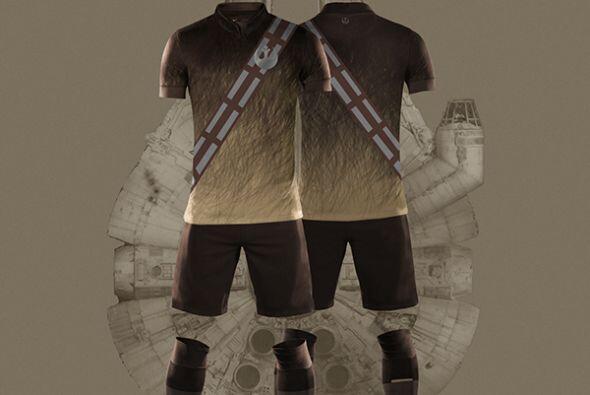 Así se vería el de Chewbacca.