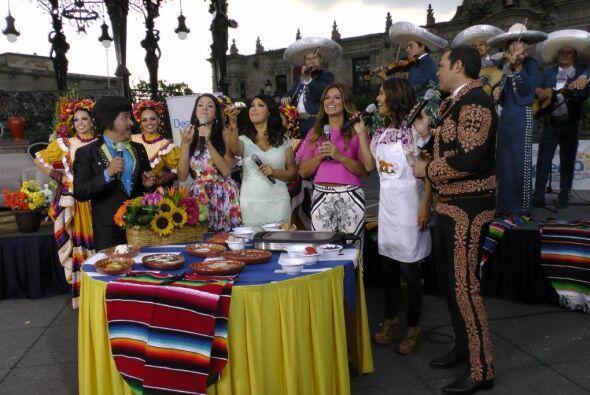 Nadie se quiso perder de los deliciosos platillos típicos de Guadalajara...