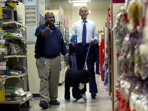 El presidente Barack Obama decidió darse un respiro de sus actividades c...