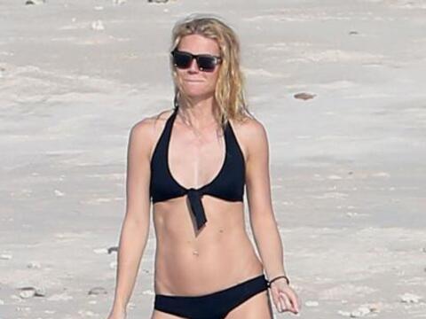 OMG! Los paparazzi captaron a Gwyneth nuevamente en playas mexicanas.