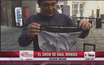 El Turky hasta le quiere prestar la ropa íntima a Raúl